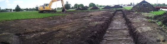 Building Footing Trench